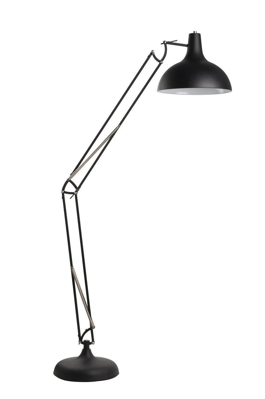 Lampadaire industriel OFFICE - Noir