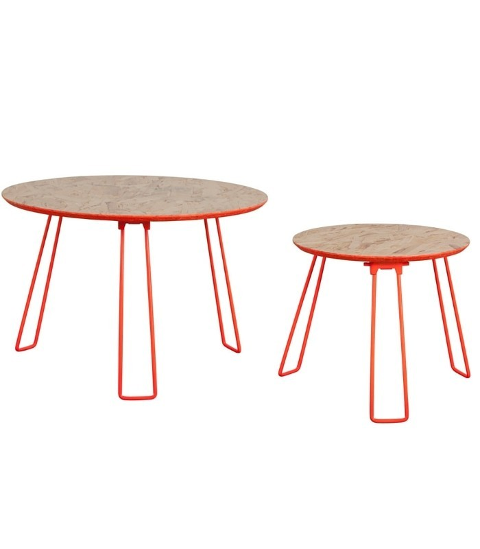 Table d'appoint OSB - Corail