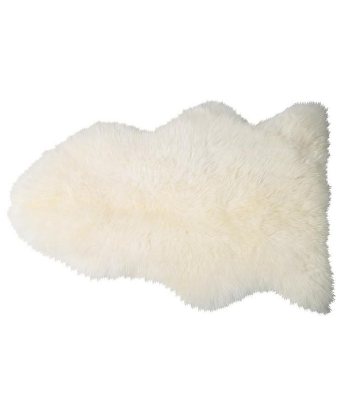 Peau de mouton Shaun - Ivoire