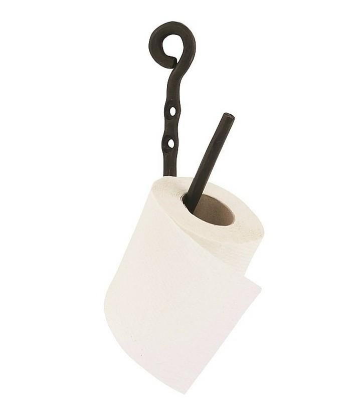 Porte-panier toilette vintage