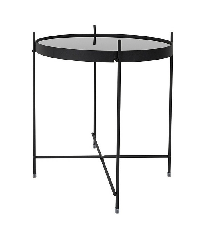Table d'appoint noir Cupidon - S