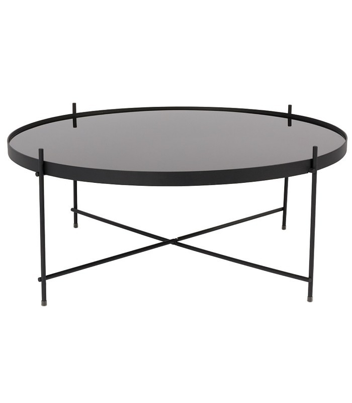 Table basse noir Cupidon - L