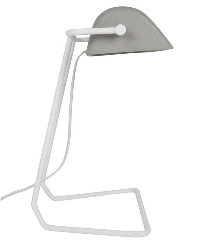 Lampe de bureau Broker - Béton