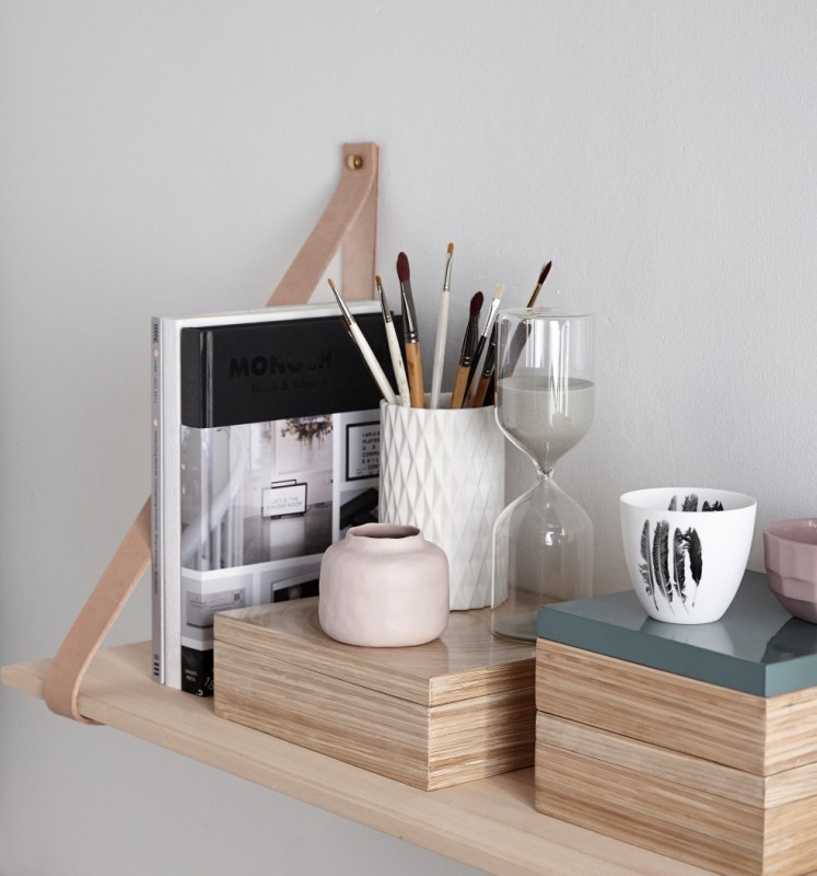 etag re ch ne cuir h bsch pastel living. Black Bedroom Furniture Sets. Home Design Ideas