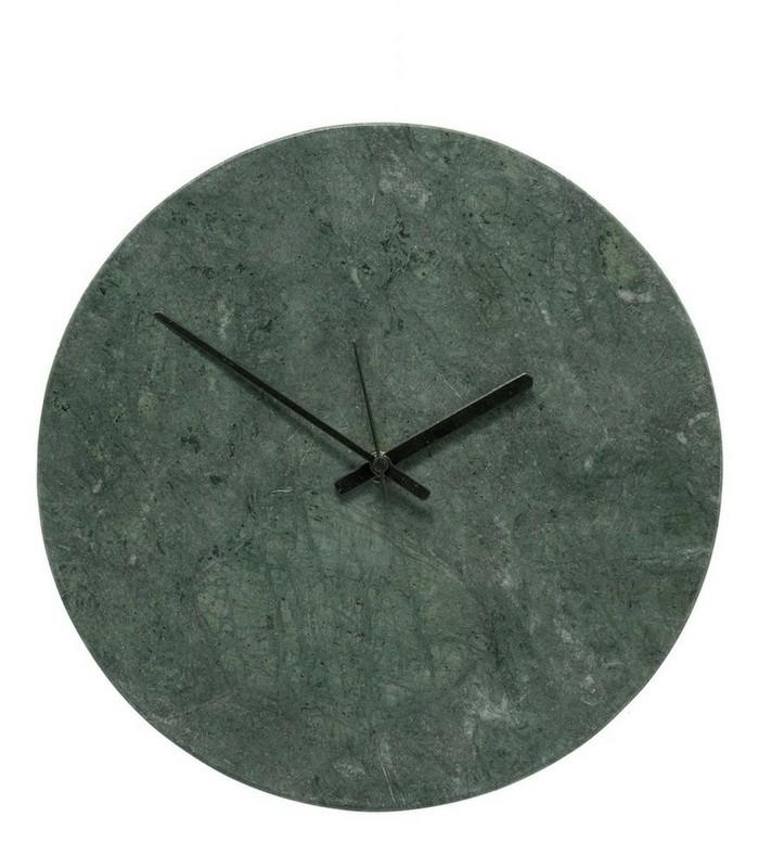 Horloge - Marbre vert