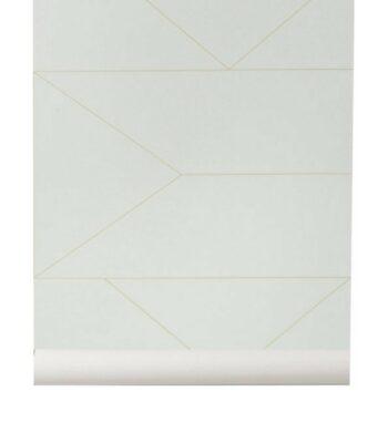 Papier Peint - Lines Mint