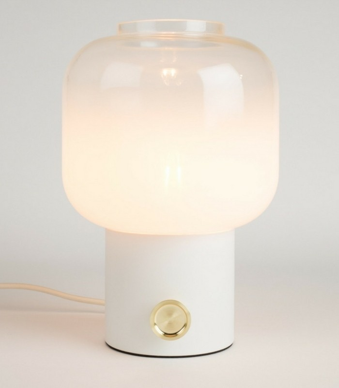 Lampe de table Moody - Blanc
