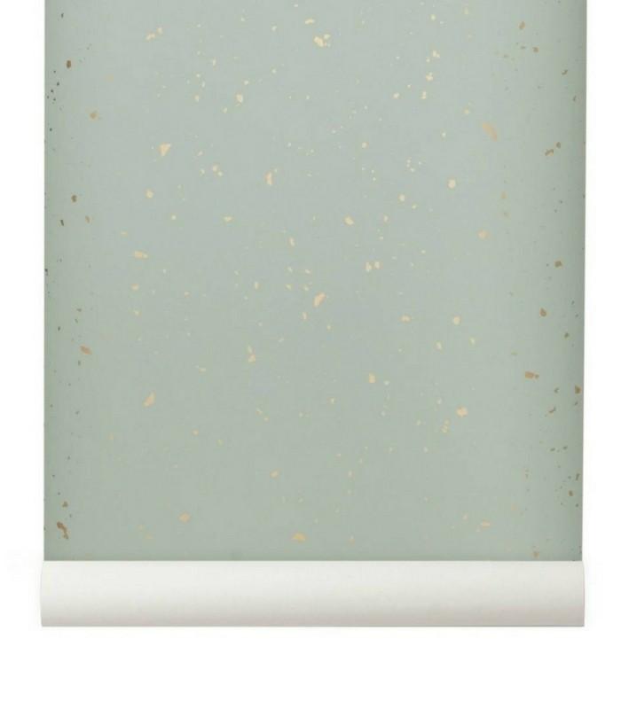 Papier-peint Confetti - Gris