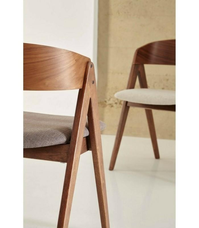 chaise oslo beige meubles pastel living. Black Bedroom Furniture Sets. Home Design Ideas