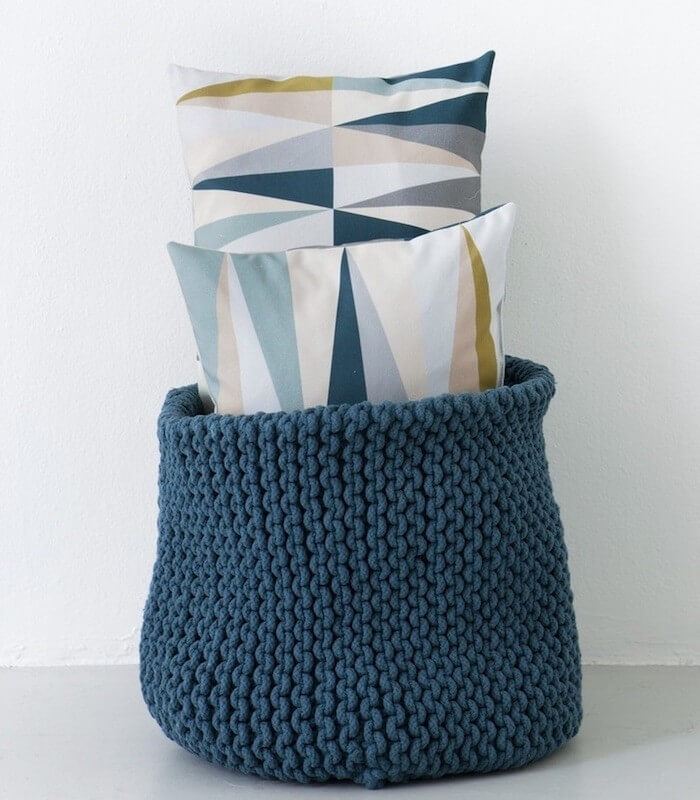 Coussin Pastel Triangles